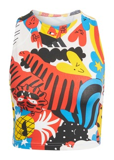 adidas Egle Graphic Crop Tank