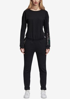 adidas Originals Embroidered French Terry Jumpsuit