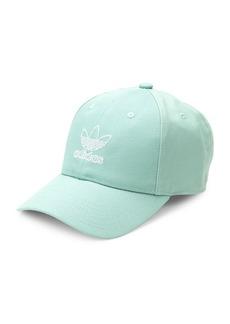 Adidas Embroidered Logo Cotton Baseball Cap