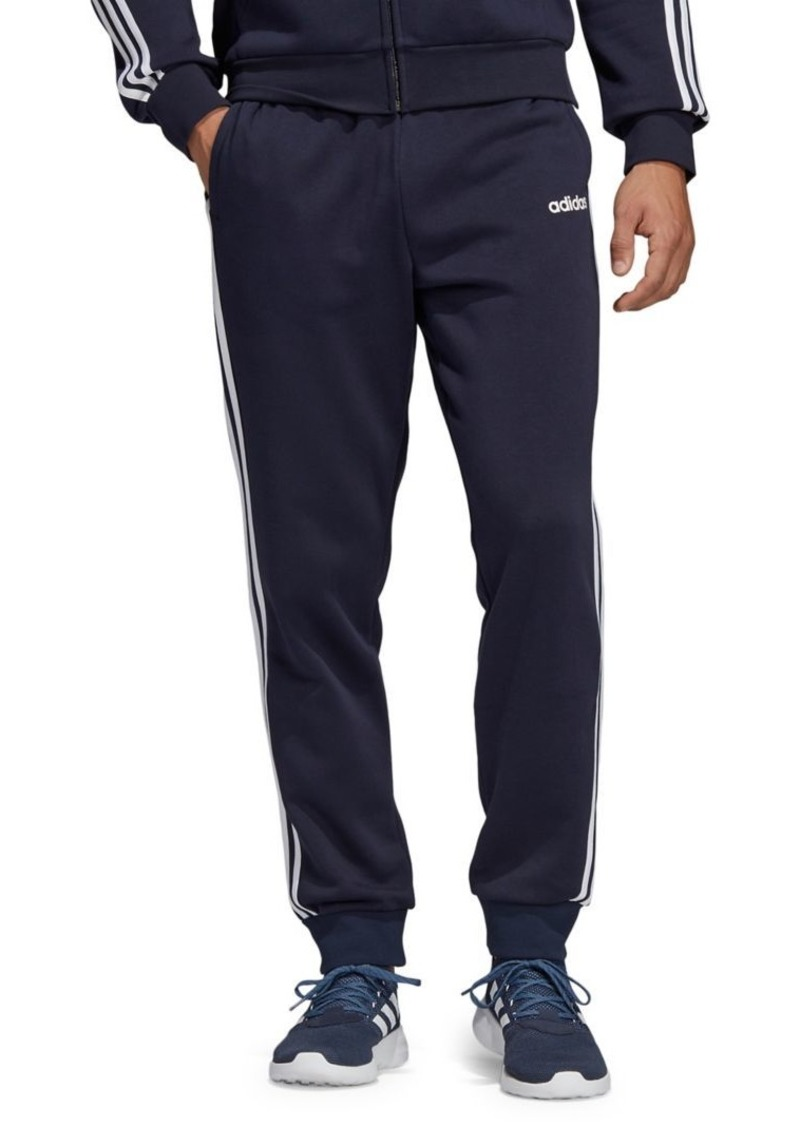 Adidas 3-Stripes Fleece Tapered Jogger Pants