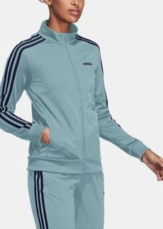 adidas Essential 3-Stripe Tricot Track Jacket