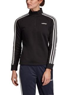 adidas Essentials 3-Stripe Quarter-Zip Track Top