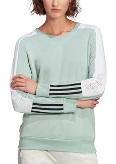 adidas Women's Essentials Colorblocked Sweatshirt