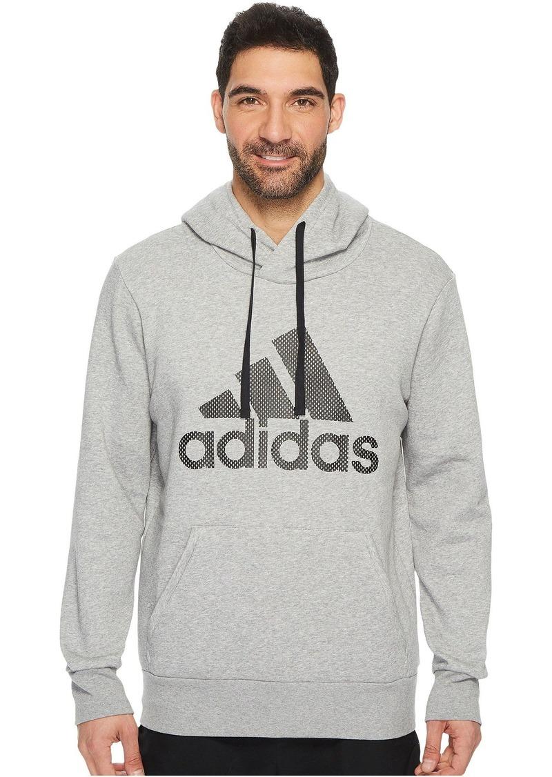 adidas Essentials Cotton Pullover Logo Hoodie
