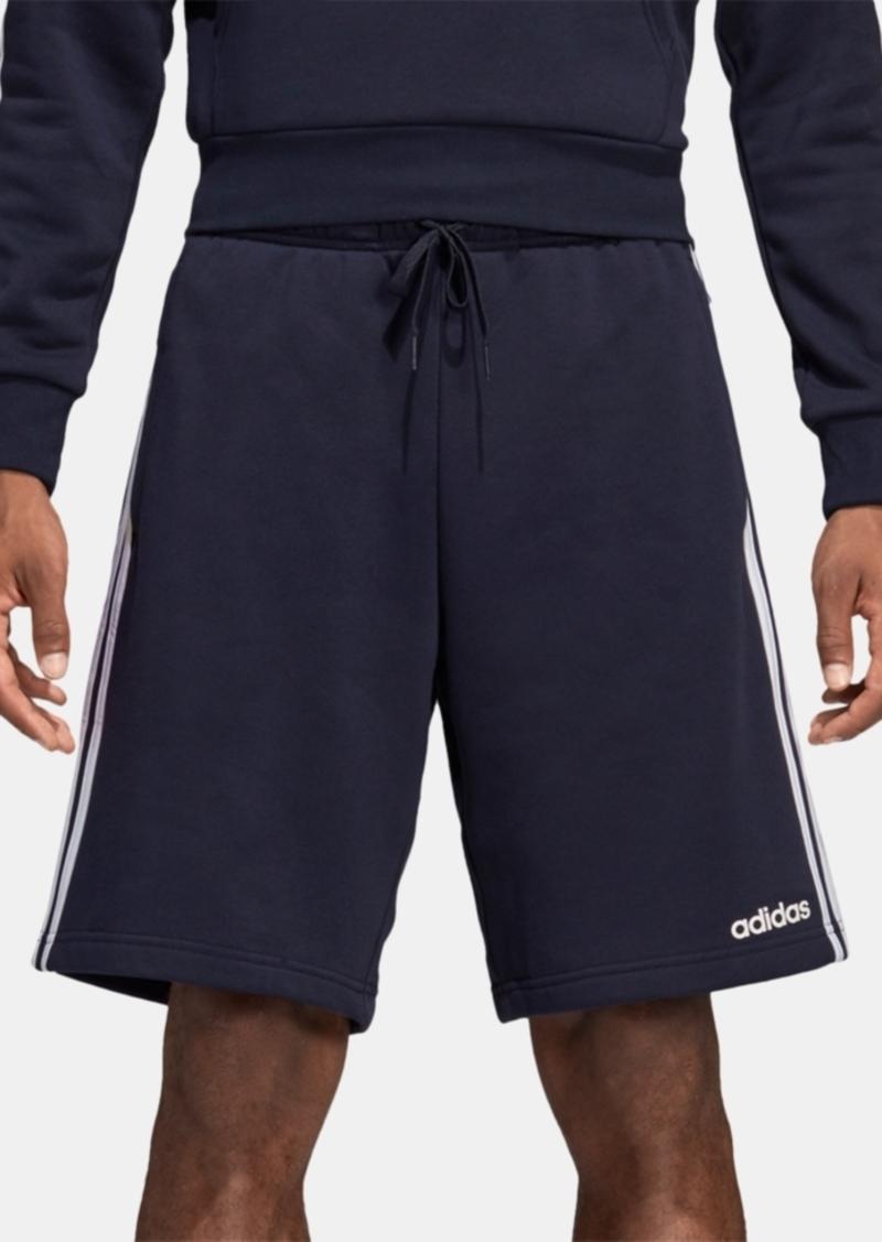 "adidas Essentials Men's Three-Stripe 10"" Fleece Shorts"