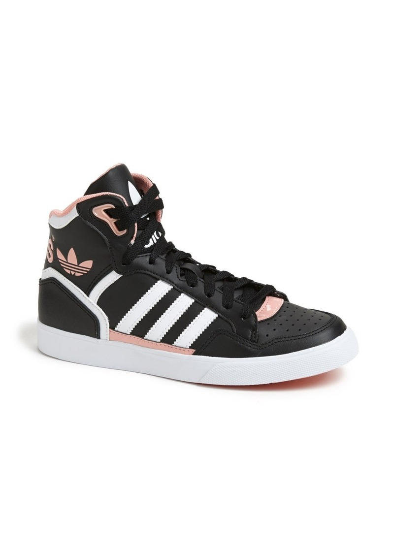 adidas adidas 39 extraball 39 high top sneaker women shoes shop it to me. Black Bedroom Furniture Sets. Home Design Ideas