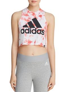 Adidas Festival Logo Tie-Dye Cropped Tank
