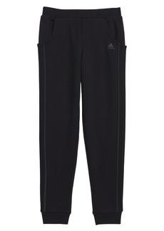 adidas Fleece Jogger Pants (Big Girls)