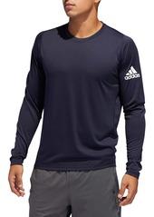 adidas FreeLift Sport Long Sleeve Performance T-Shirt