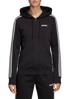 Adidas Full-Zip Cotton-Blend Fleece Hoodies