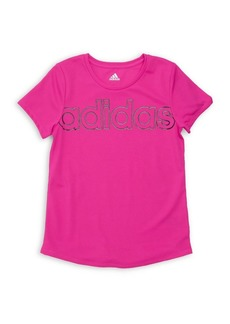 Adidas Girl's Climalite Interlock Tee