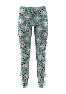 Adidas Girls' Floral Animal-Print Leggings - Big Kid