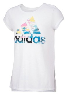 Adidas Girl's Graphic Logo Tee