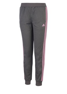 Adidas Girl's Heathered Tricot Jogger Pants