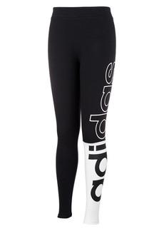 Adidas Girl's Linear Split Tights