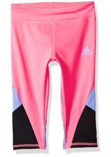 adidas Girls' Little Capri Legging