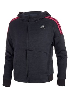 Adidas Girl's Logo Hooded Jacket