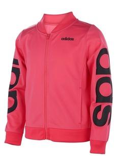 Adidas Girl's Logo Tricot Bomber Jacket