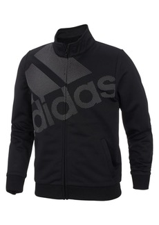 Adidas Girl's Logo Tricot Full-Zip Jacket