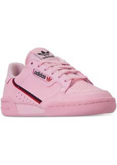 adidas Girls  Originals Continental 80 Casual Sneakers from Finish Line fa0506f8698