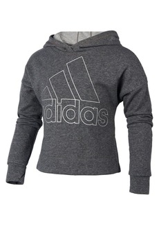 Adidas Girl's Sparkle French Terry Hoodie
