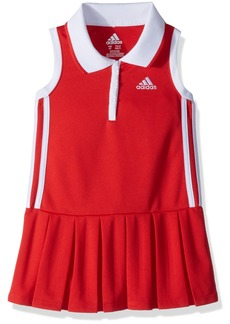 adidas Girls' Toddler Yrc Active Polo Dress
