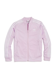 Adidas Girls' Track Jacket - Big Kid