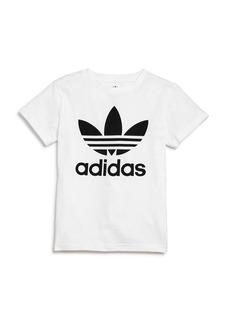 Adidas Girls' Trefoil Tee - Big Kid