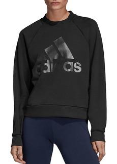 Adidas Glory Crewneck Logo Sweatshirt