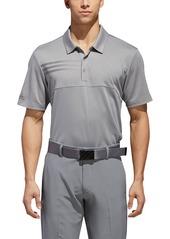adidas Golf 3-Stripes Blocked Piqué Polo
