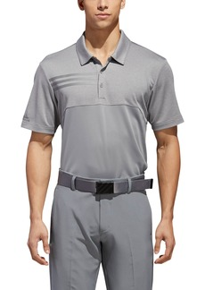 adidas Golf 3-Stripes Blocked Piqué Polo