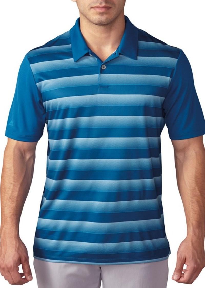 adidas Golf Adidas Block Stripe Polo