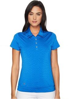 adidas Golf Chevron Short Sleeve Polo