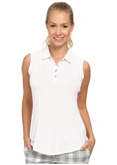 adidas Golf Climalite Essentials Heather Sleevelees Polo '15