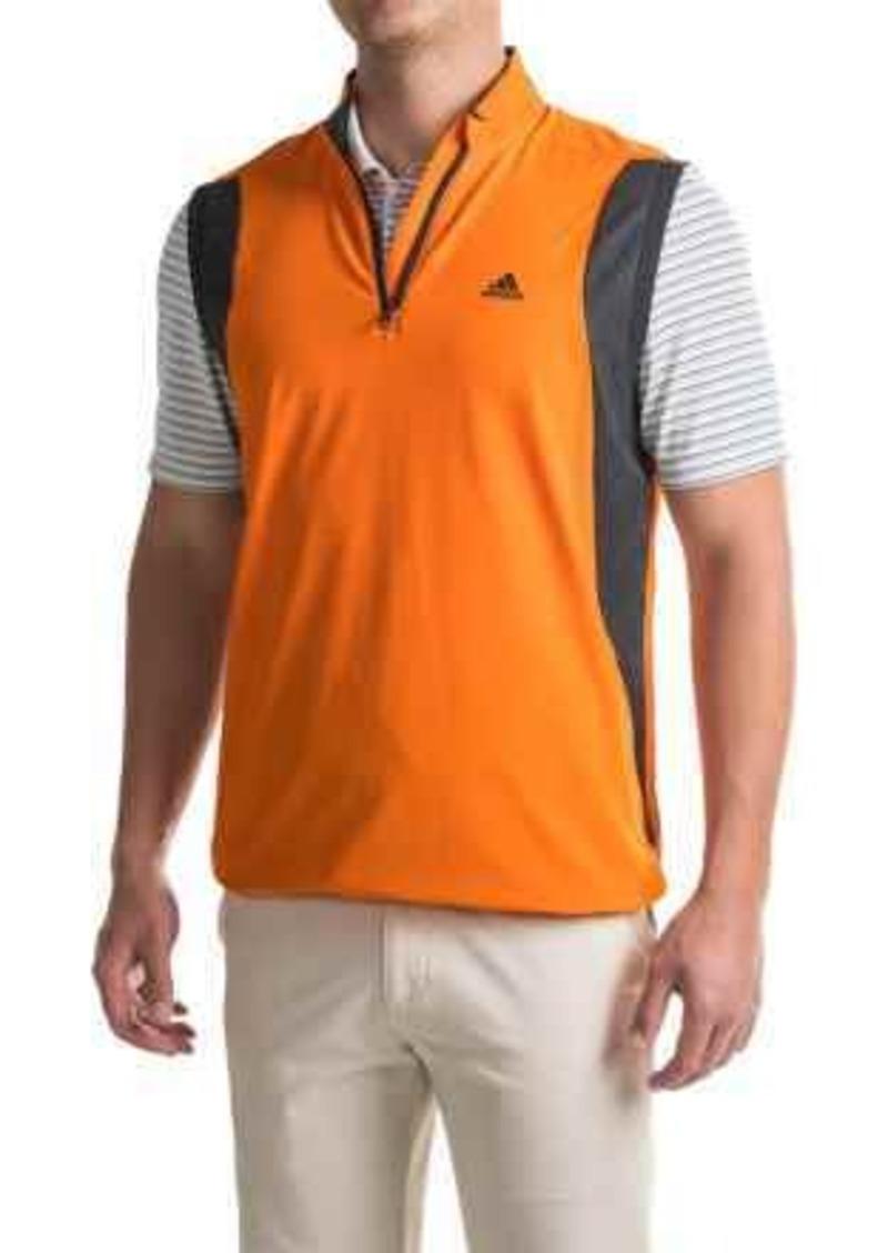 7d97299667421 Adidas adidas golf High-Performance Wind Vest - Zip Neck