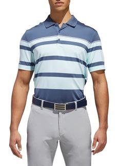 adidas Golf Stripe Fashion Tech Polo
