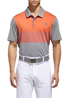 adidas Golf Ultimate 365 Colorblock Jersey Polo
