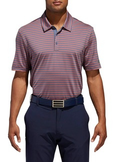adidas Golf Ultimate 365 Stripet Jersey Polo