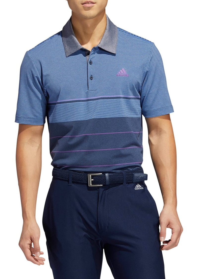 adidas Golf Ultimate Stripe Polo Shirt