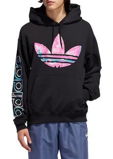 Adidas Originals Watercolor Logo Fleece Hoodie