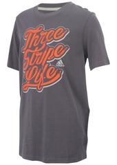 adidas Graphic-Print Cotton T-Shirt, Big Boys (8-20)