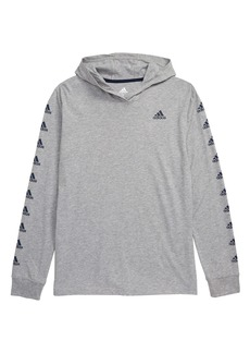 adidas Graphic Sleeve Hooded T-Shirt (Big Boys)