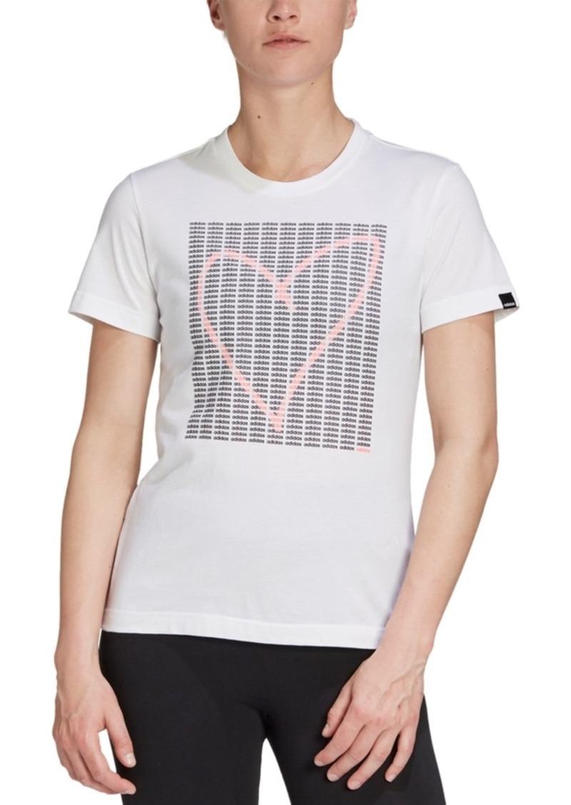 adidas Women's Heart Graphic T-Shirt