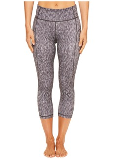 adidas Heathered Ikat Performer High-Rise 3/4 Tights