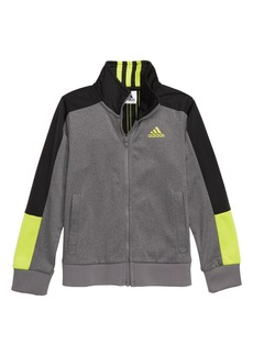 adidas Heathered Track Jacket (Toddler Boys & Little Boys)