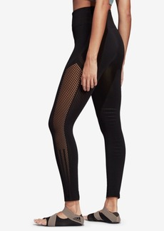 adidas High-Rise Seamless Warp-knit Ankle Leggings