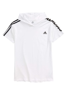 adidas Hooded T-Shirt (Big Boy)