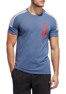 adidas Hypersport 3-Stripes T-Shirt