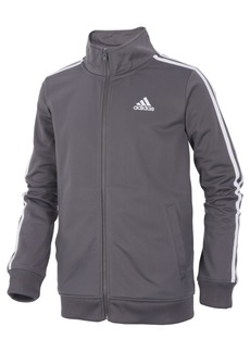 adidas Toddler Boys Iconic Zip-Up Tricot Jacket