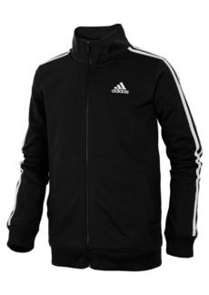 adidas Iconic Zip-Up Tricot Jacket, Little Boys
